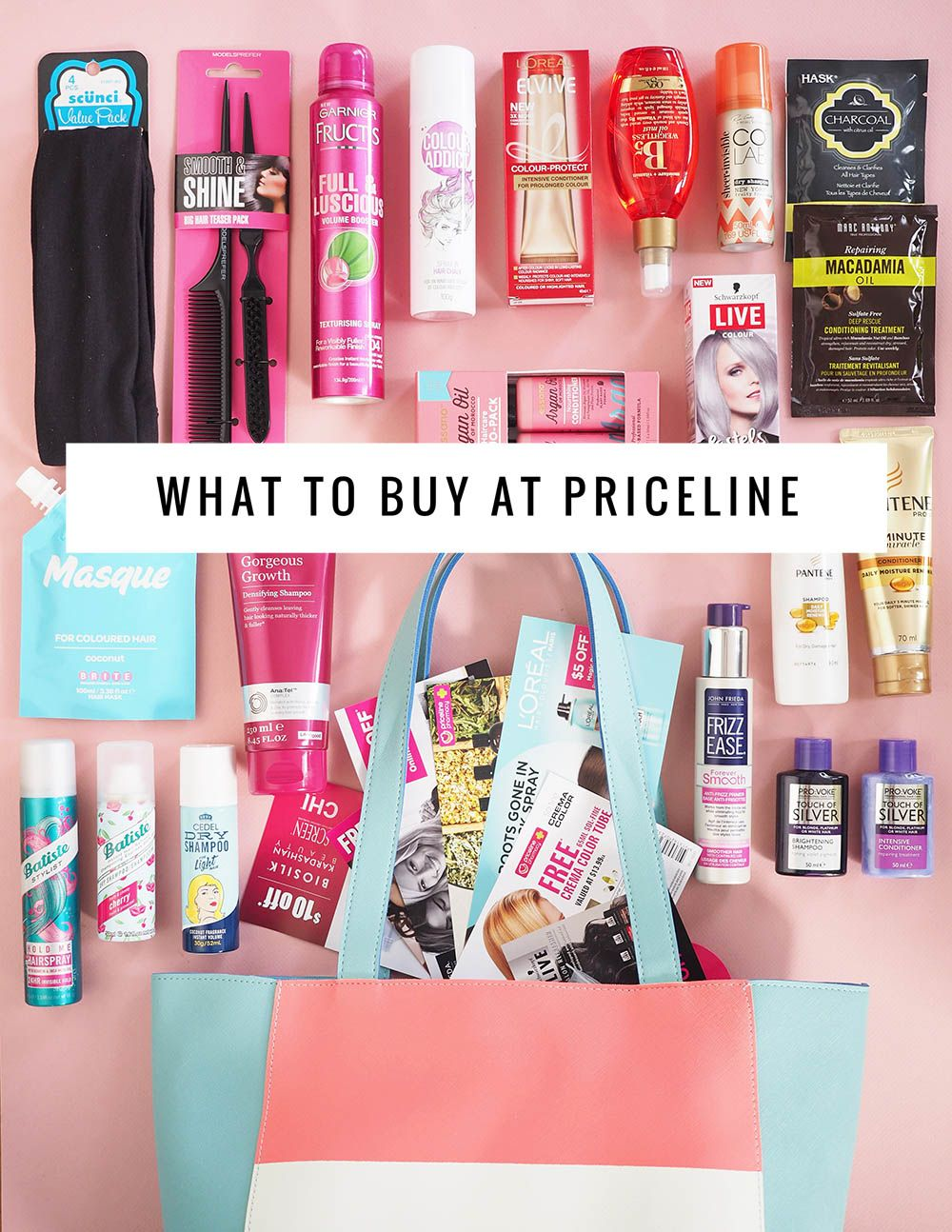 What to buy at the Priceline hair care sale Hair care