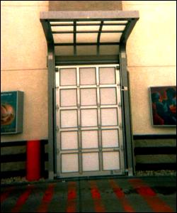 Custom Restaurant Pick Up Overhead Door Closed Titan Model