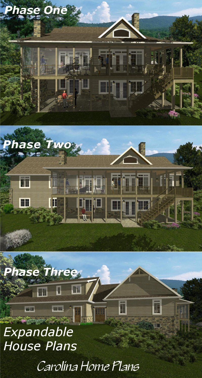 Achieve your dream home build in stages with flexible for Flexible house plans