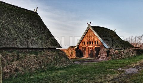 Image Of Viking Helmets Historical Scandinavian Architecture Norwegian Architecture Viking House