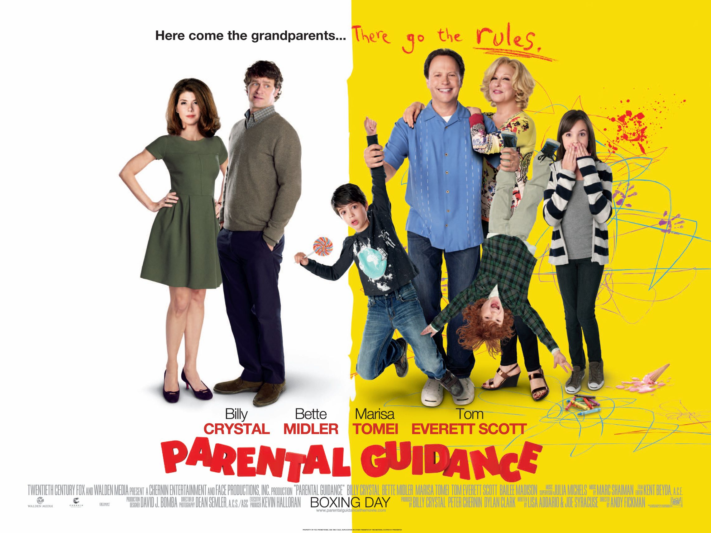 2019 year looks- Guidance Parental movie poster