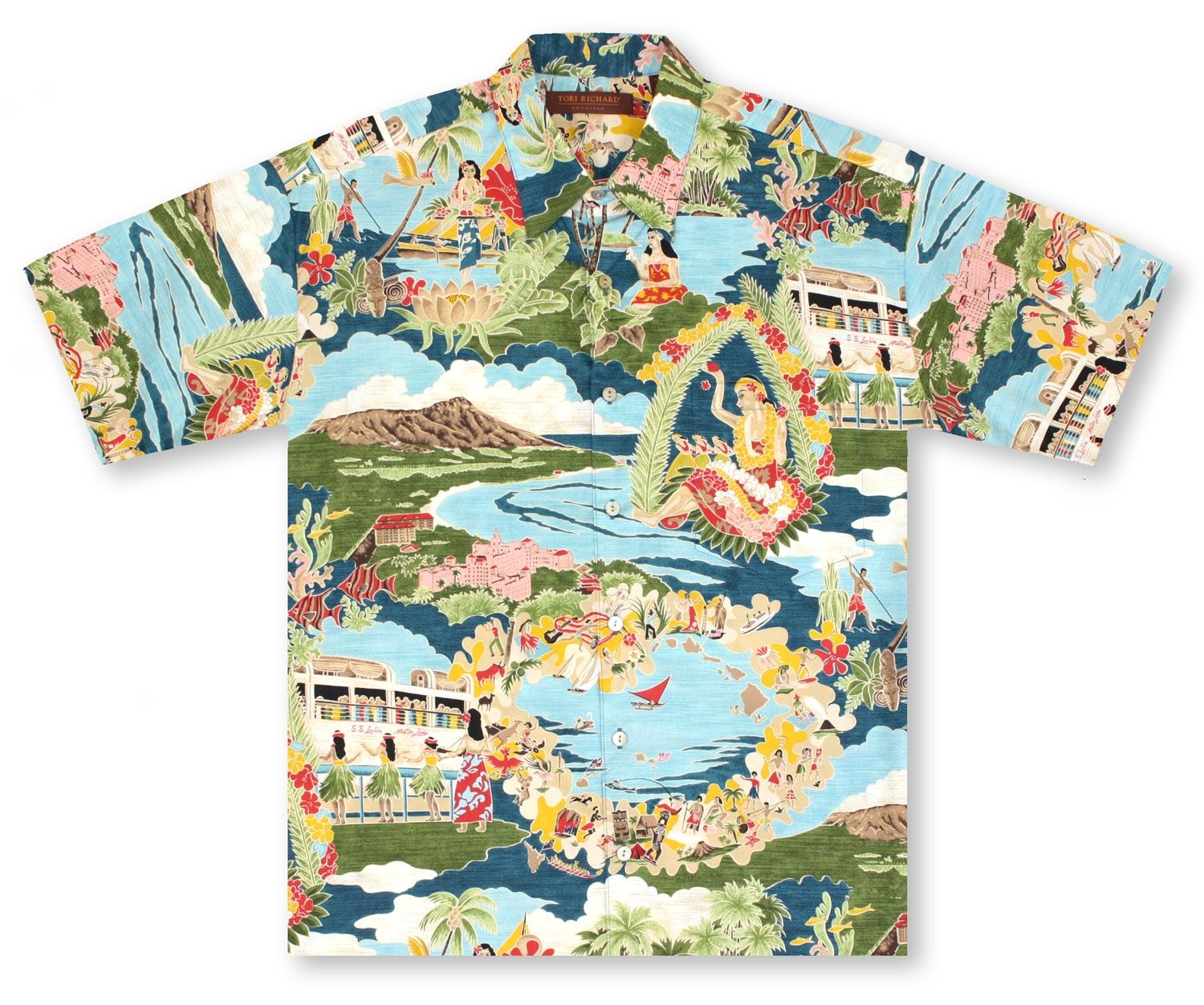 great fit superior quality laest technology Big and Tall Aloha Shirts Hawaiian Shirts From Aloha Shirt ...