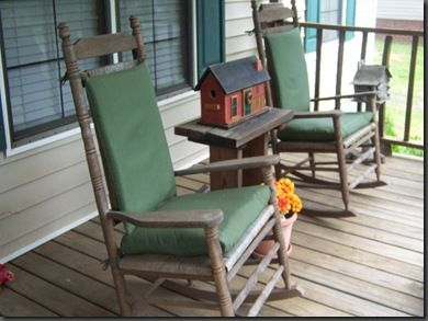 I've spent many hours on my front porch!