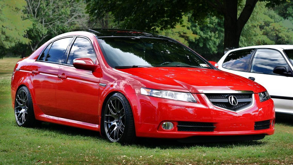 Acura Tl Type S Third Generation Ua6 Ua7 Gold Wheels