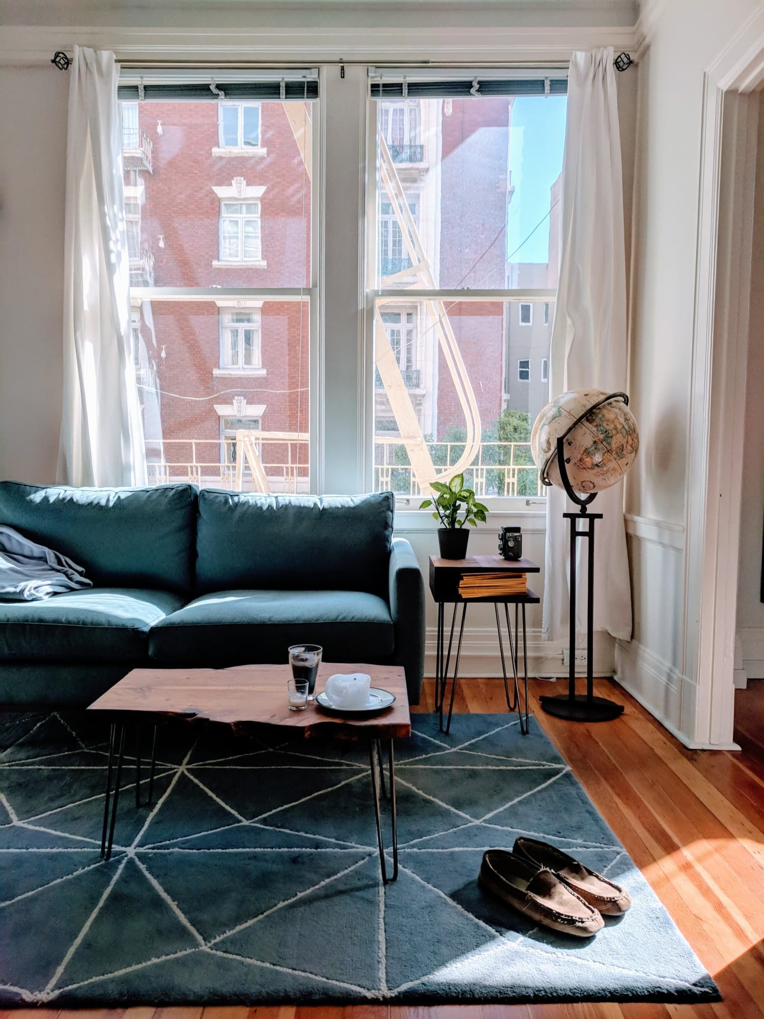 Small Living Room Apartment Therapy: A Traveler's 400-Square-Foot San Francisco Studio