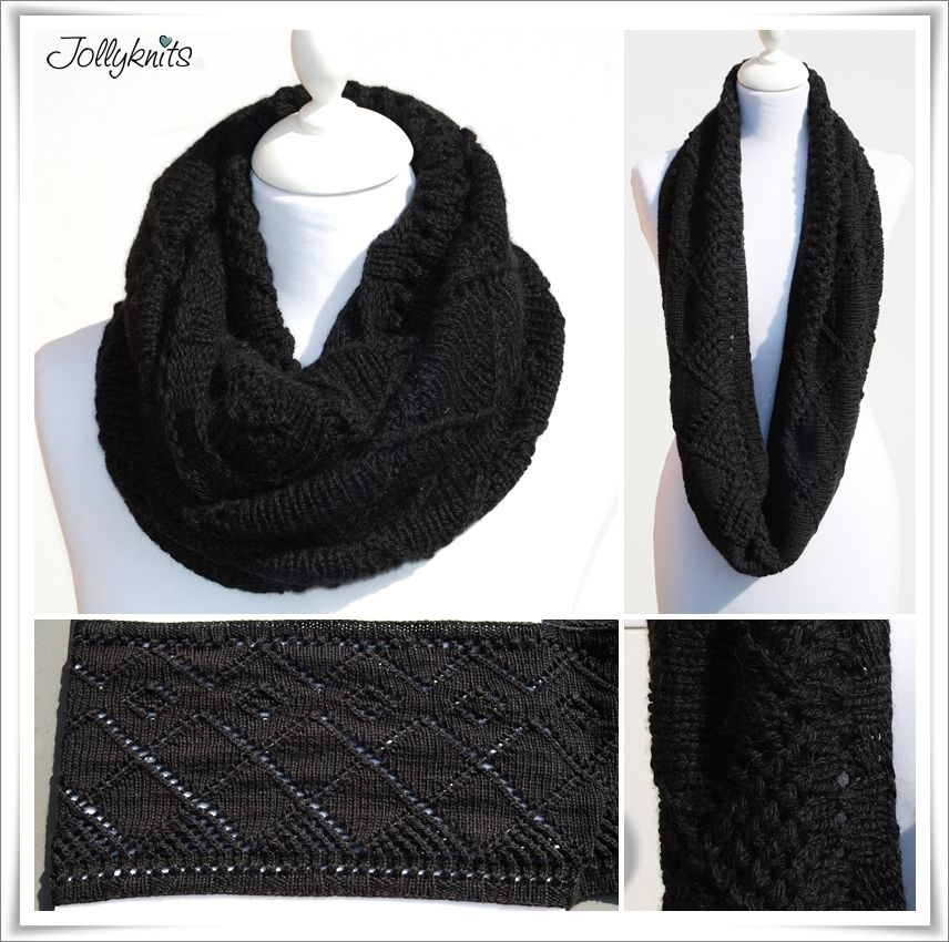 EBONY Strickanleitung Loop / Cowl knitting pattern | Jollyknits ...