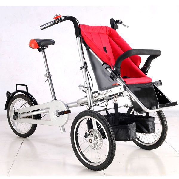 Details about e-Guruma Mom & Baby Bike Two-way Bicycle Baby ...