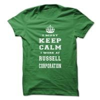 Keep calm - Russell Corporation tee