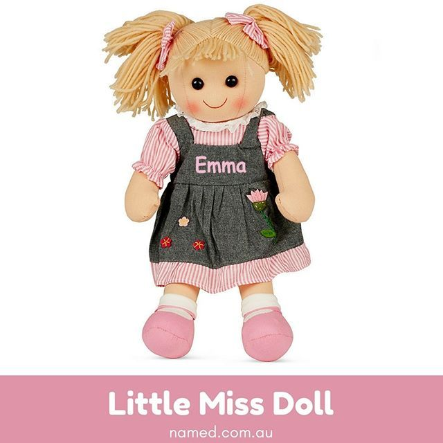 There is nothing cuter than this personalised little miss doll if when you are looking for personalised baby gifts then no more need to search elsewhere just connect with named one of the leading online shopping stores negle Gallery