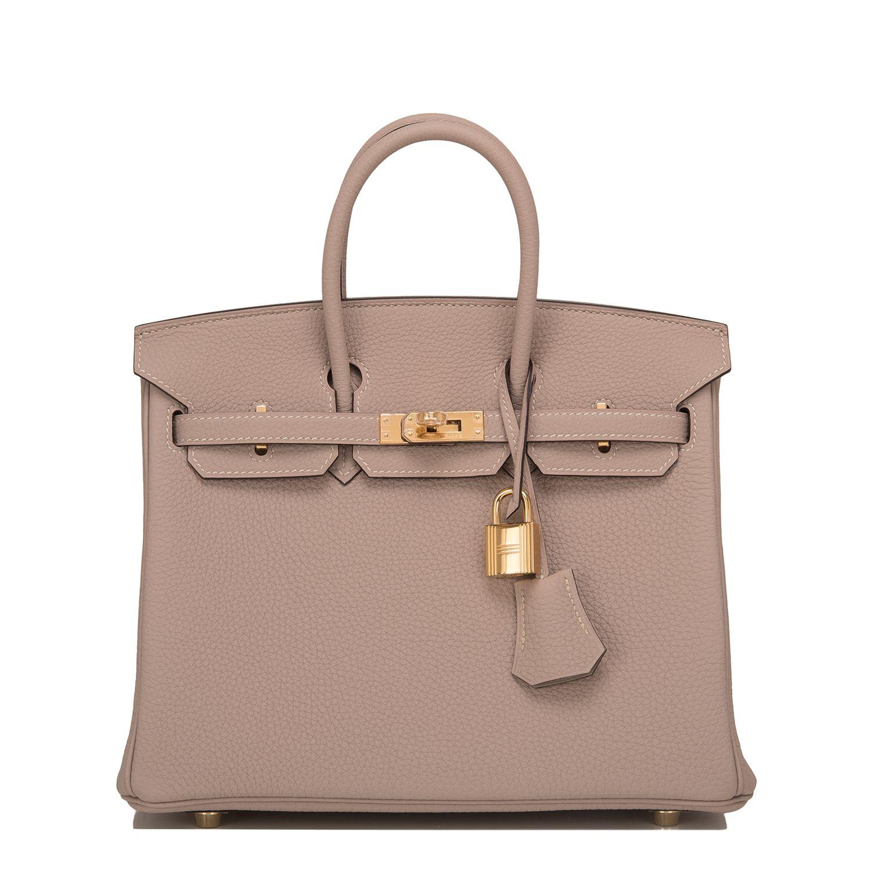 c877a10e5a Hermes  Birkin  Bag Gris Tourterelle Togo Gold Hardware