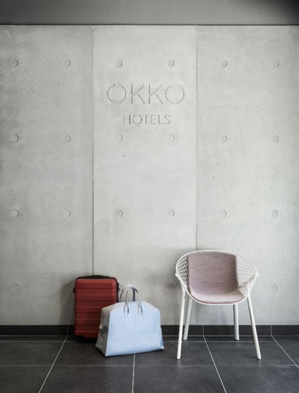 Lobby OKKO Hotel / Patrick Norguet / Concrete by LCDA Panbeton ...