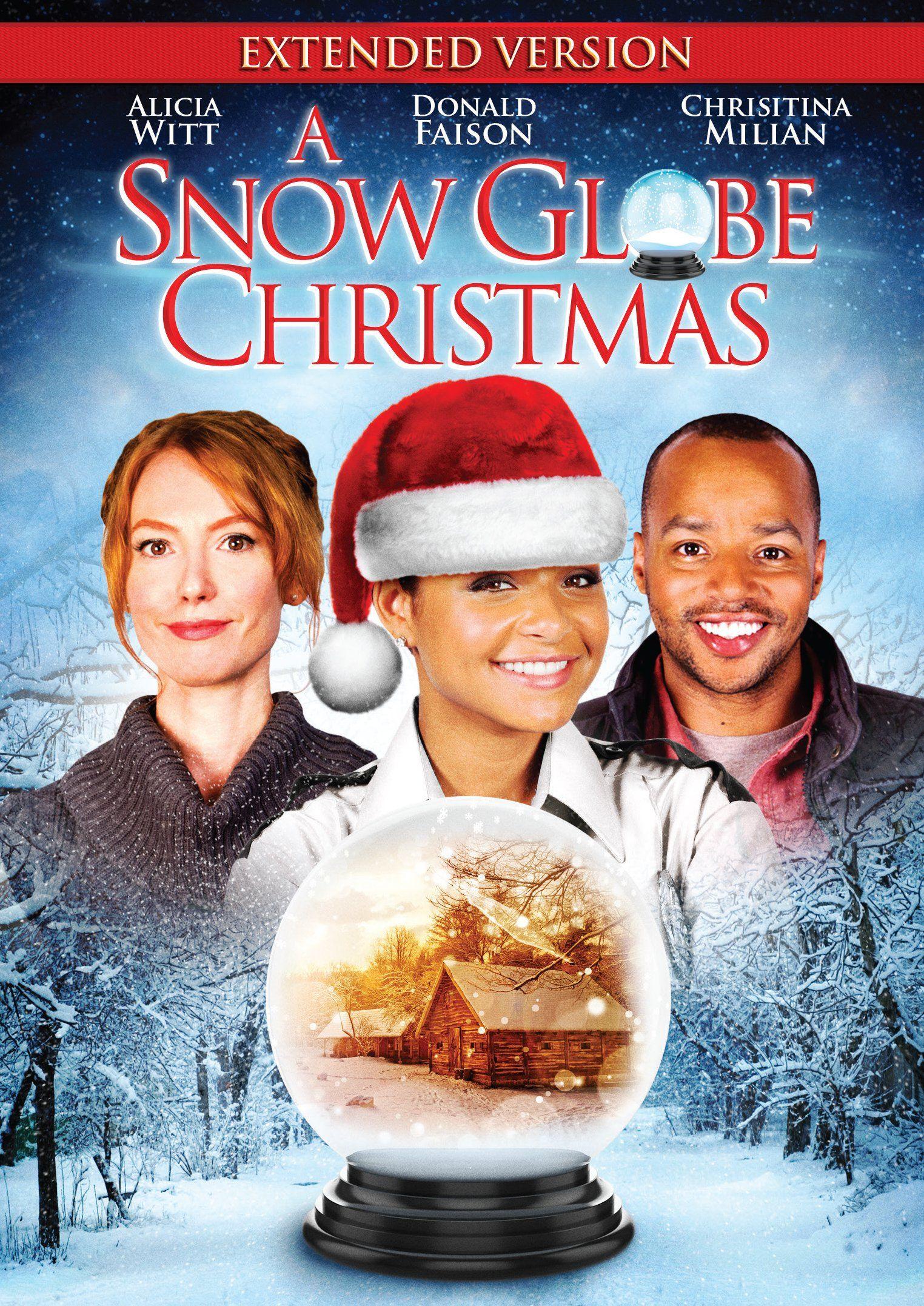 Snow Globe Christmas Christmasvids Net Capas De Filmes Filmes