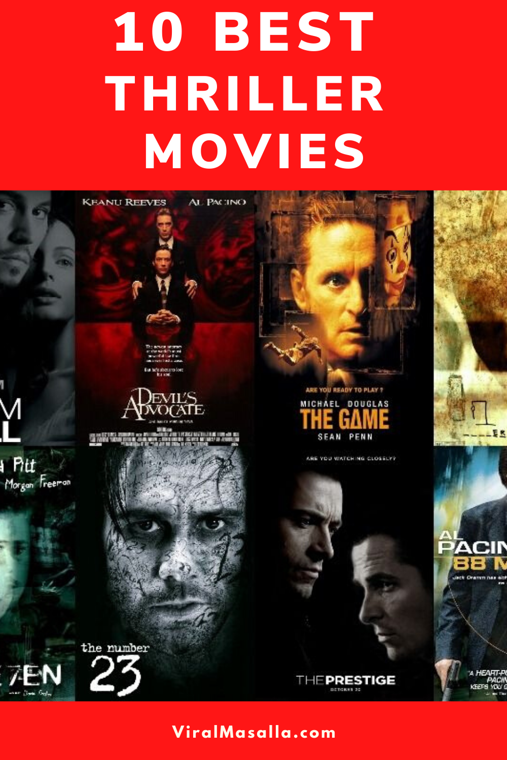 10 Best Thrillers Movies on Amazon Prime Video in 2020 in