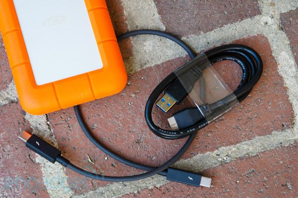 Lacie S Rugged Usb 3 0 Thunderbolt Fast Portable Storage That Can Take A Beating Usb Portable Storage Cool Gadgets