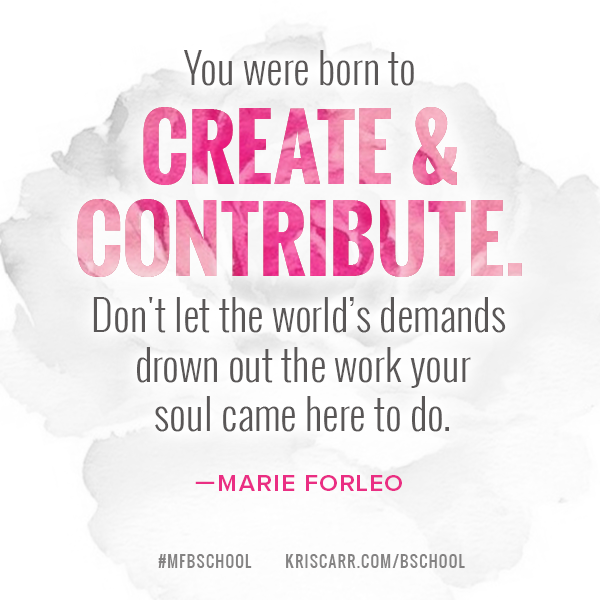 Heads up: If you've been thinking about enrolling in Marie Forleo's B-School, now is the time to make your move. After March 2nd (tomorrow!), the program won't be available again until next year, and you don't wanna let this fab opportunity pass you by...  #mfbschool #business #inspiration #quote