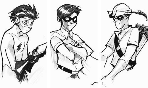Teen Titans by Karl Kerschl