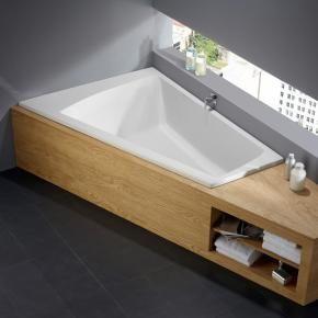 Badewanne Holzverkleidung