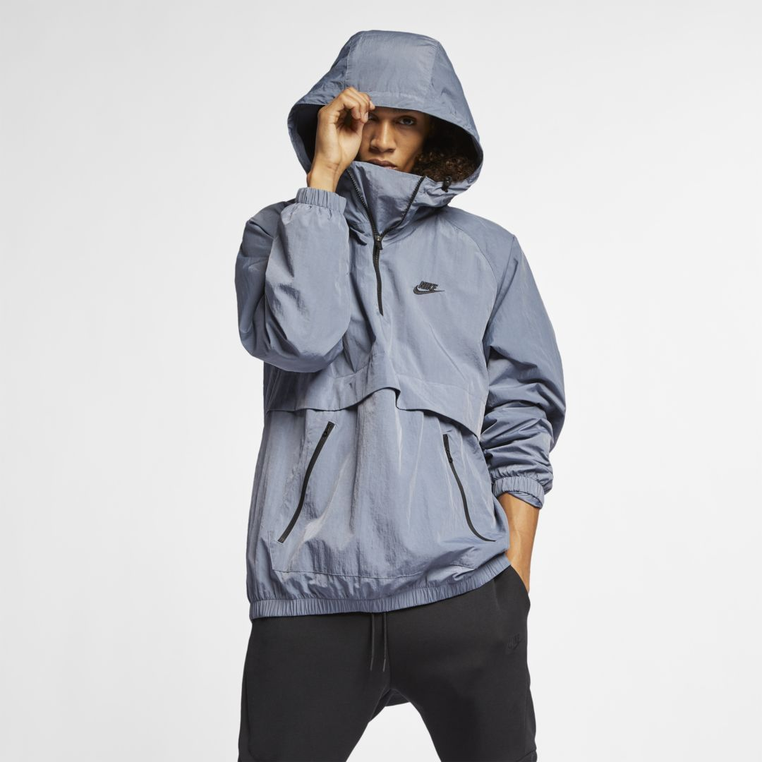 8cd93aa97 Sportswear Hooded Woven Anorak in 2019 | Products | Unisex clothes ...