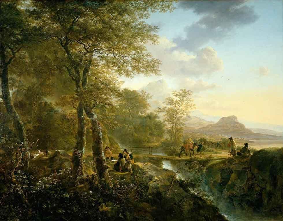 Hot Item Classical Landscape Painting Italian Landscape Landscape Artist Landscape