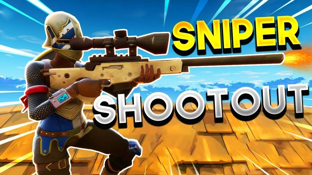 Fortnite Sniper Shootout V2 How To Be The Best Sniper In The Game