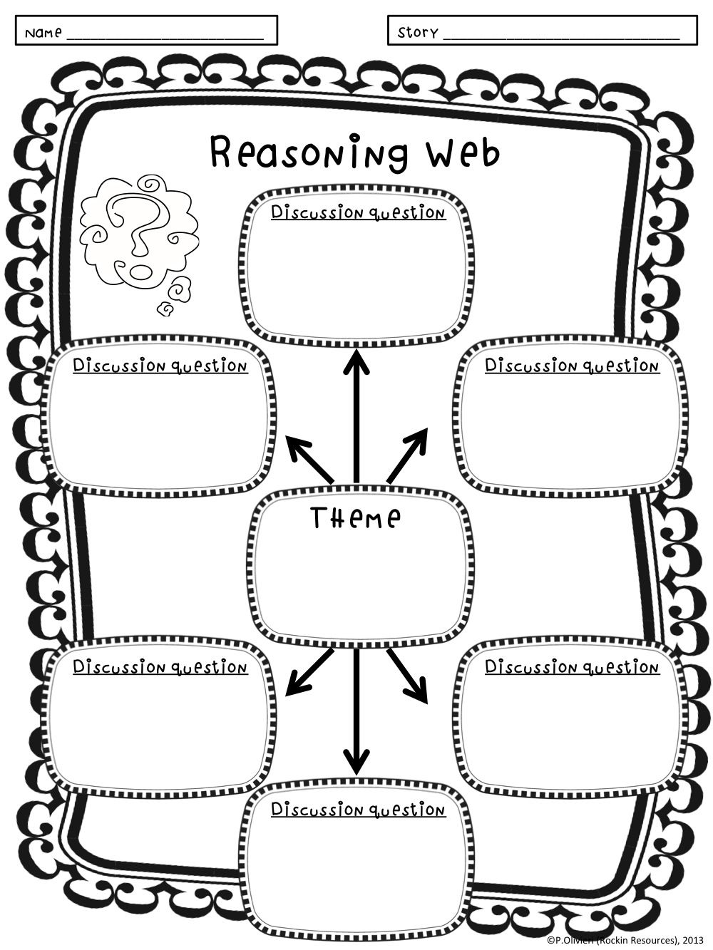 Higher-Level Thinking Lesson Plans and Printables for Any