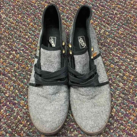 37b3a79624 Vans Wool Twill Camryn. Van ShoesVansShoes ...