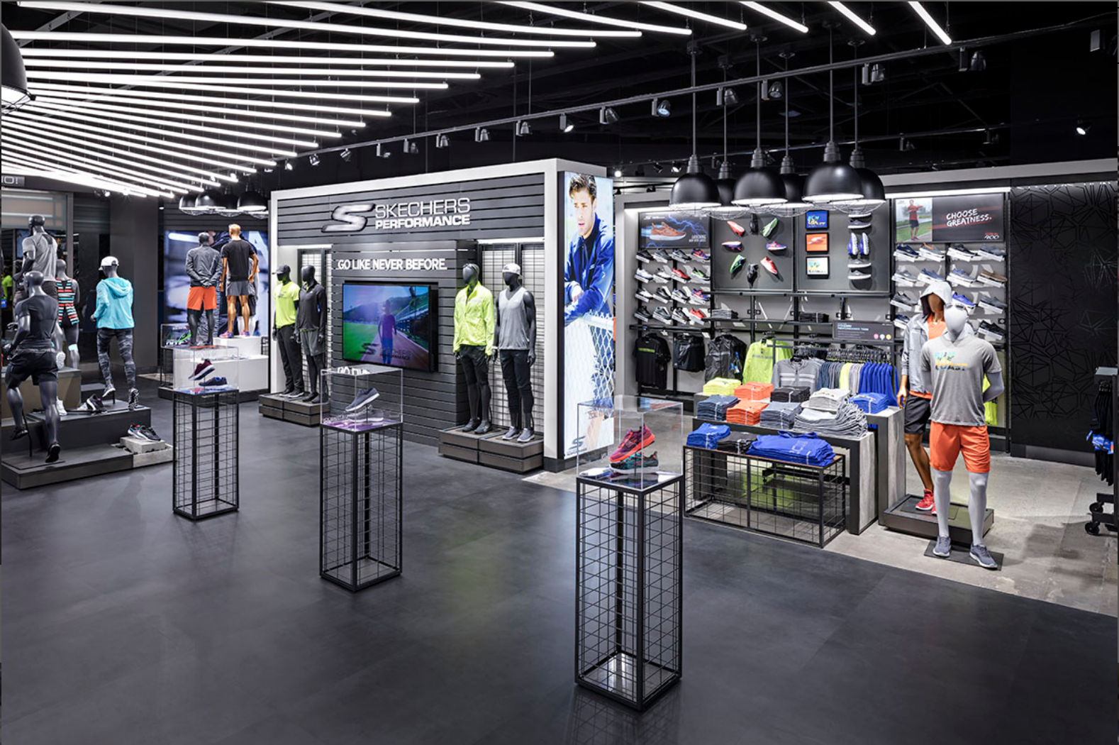 The Skechers Factory Outlet Is Designed With Durable Visually