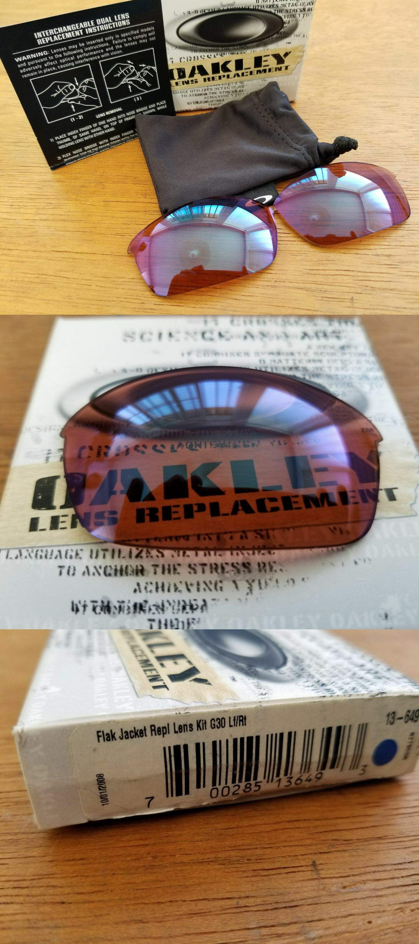 730d78da5a Sunglass Lens Replacements 179194  Authentic Oakley Half Jacket 1.0 G30  Lenses Brand New In Box -  BUY IT NOW ONLY   59.99 on eBay!