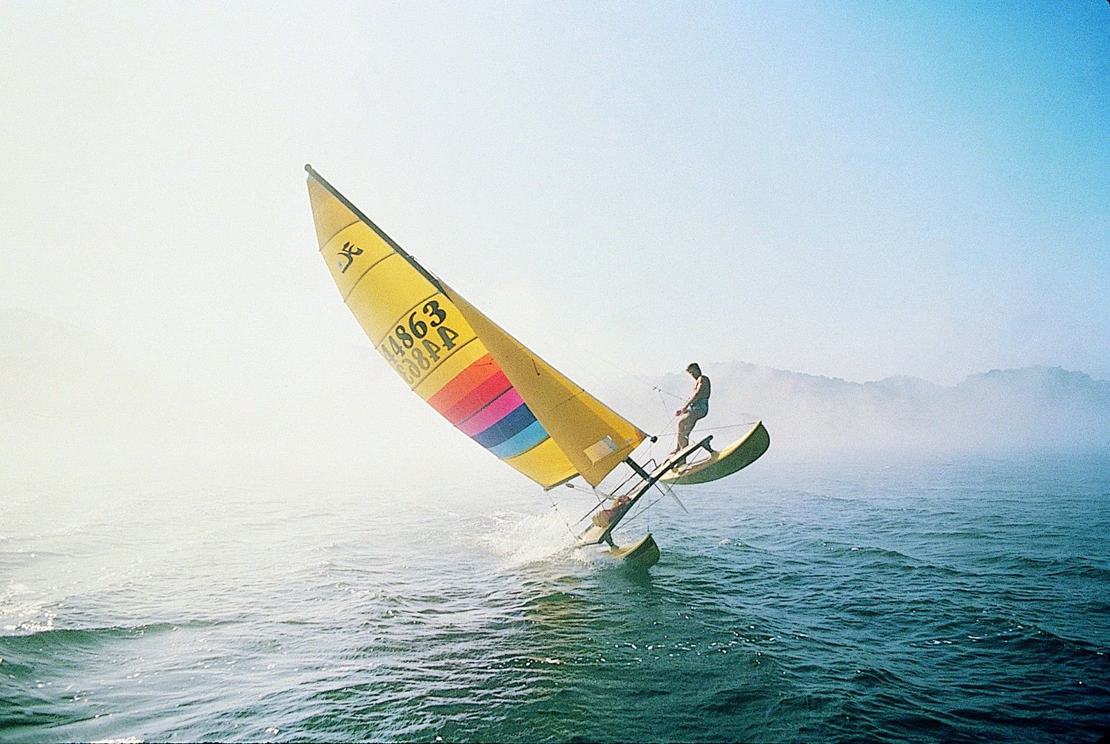 Hobie 14 (Photo Credit Pierrick Contin) Sailing