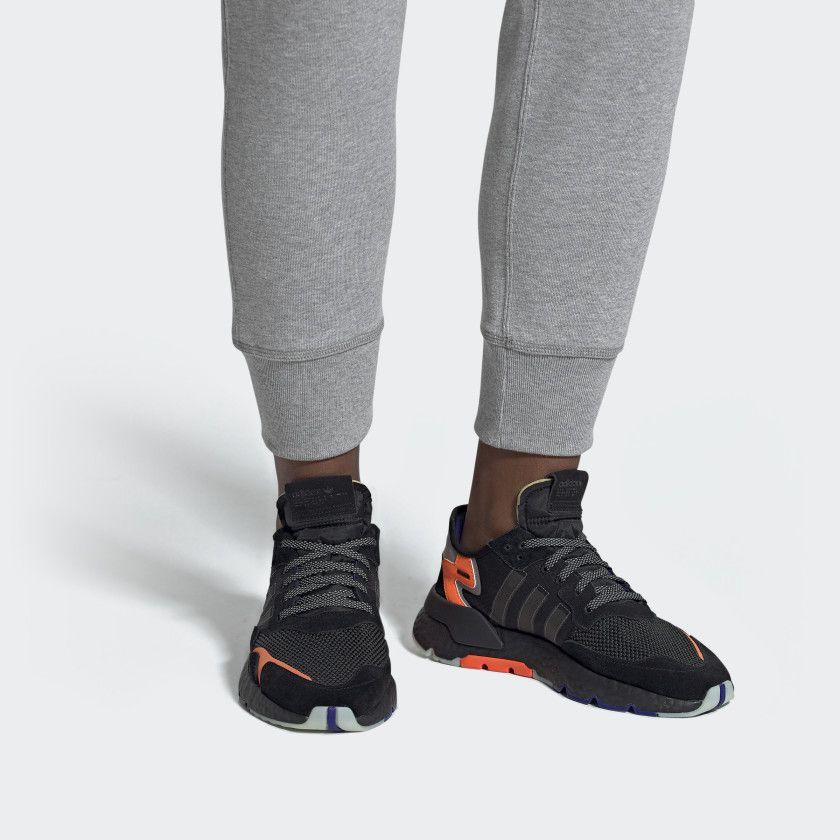 Nite Jogger Shoes Core Black Carbon Active Blue CG7088