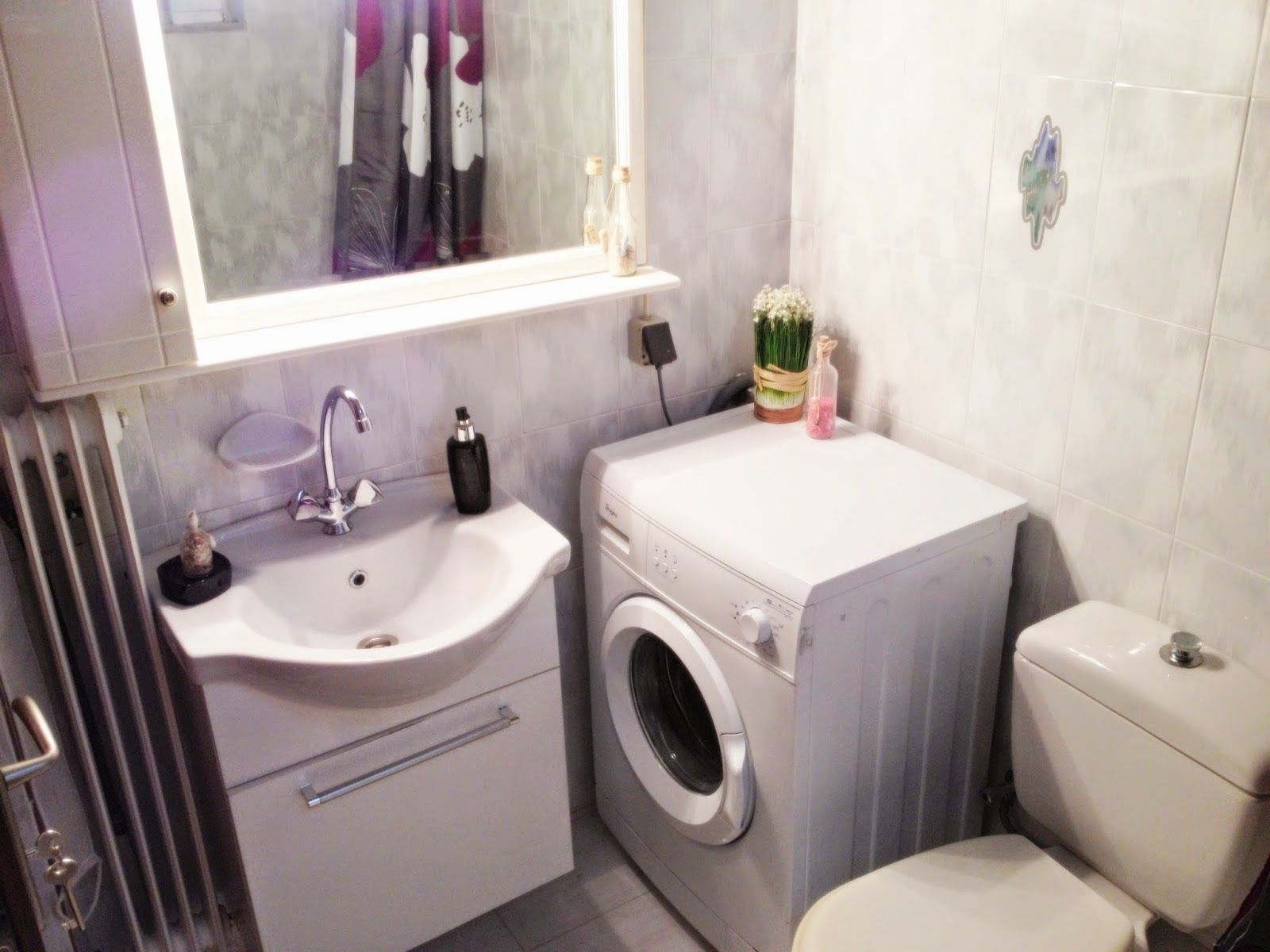 100+ Washing Machine Small Space - Interior House Paint ... on Small Space Small Bathroom Ideas With Washing Machine id=52904