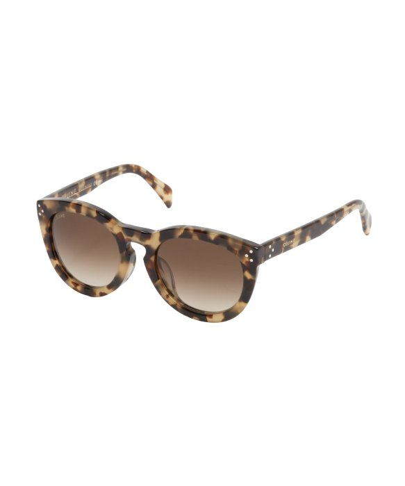 0571a6402dd6 Celine brown tortoise print round frame  New Audrey  sunglasses in brown  tortoise  ) and they re 41% off!!