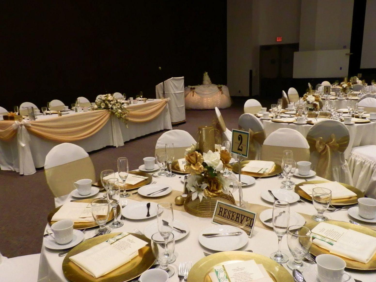 Wedding Table List Dinner Parties 50th Wedding Anniversary