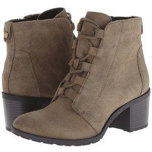 Womens Boots Anne Klein Kadey Taupe Suede