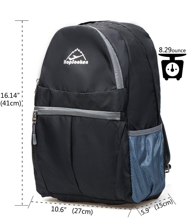261a6a0392176 Amazon.com: Travel Backpack, Hiking Daypack 30l, Hopsooken Ultra ...