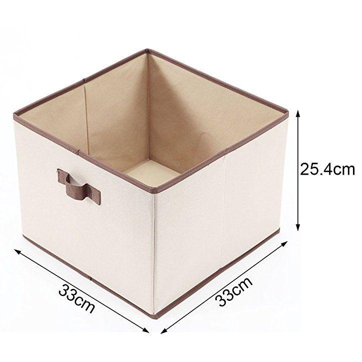 storagemaniac Faltbare-Abfalleimer mit Griffen, Aufbewahrungsbox