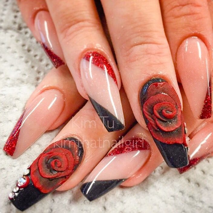 elegantes | Uñas | Pinterest | Elegante, Arte de uñas y Diseños de uñas