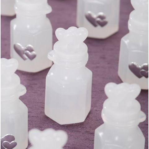 Wedding Bubbles with Hearts - 24ct.