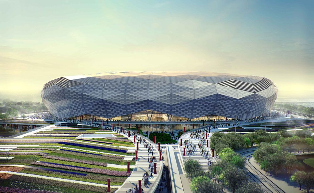 Innovation on the Qatar Foundation Stadium by Arup