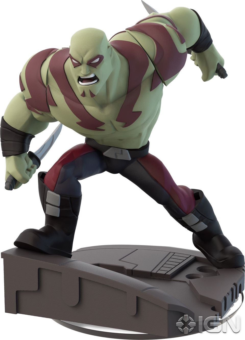 Disney Infinity 2.0 Figure: Drax (Wave 1, Guardians of the Galaxy Play Set, Sold Separately)