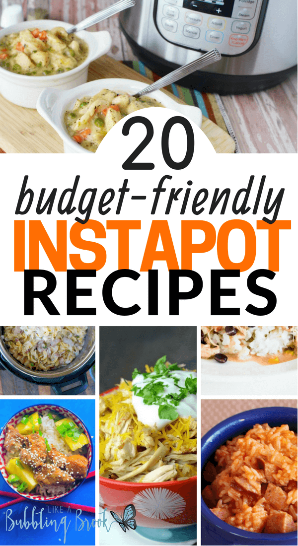 20 Easy Budget InstaPot Recipes That Your Family Will Love images