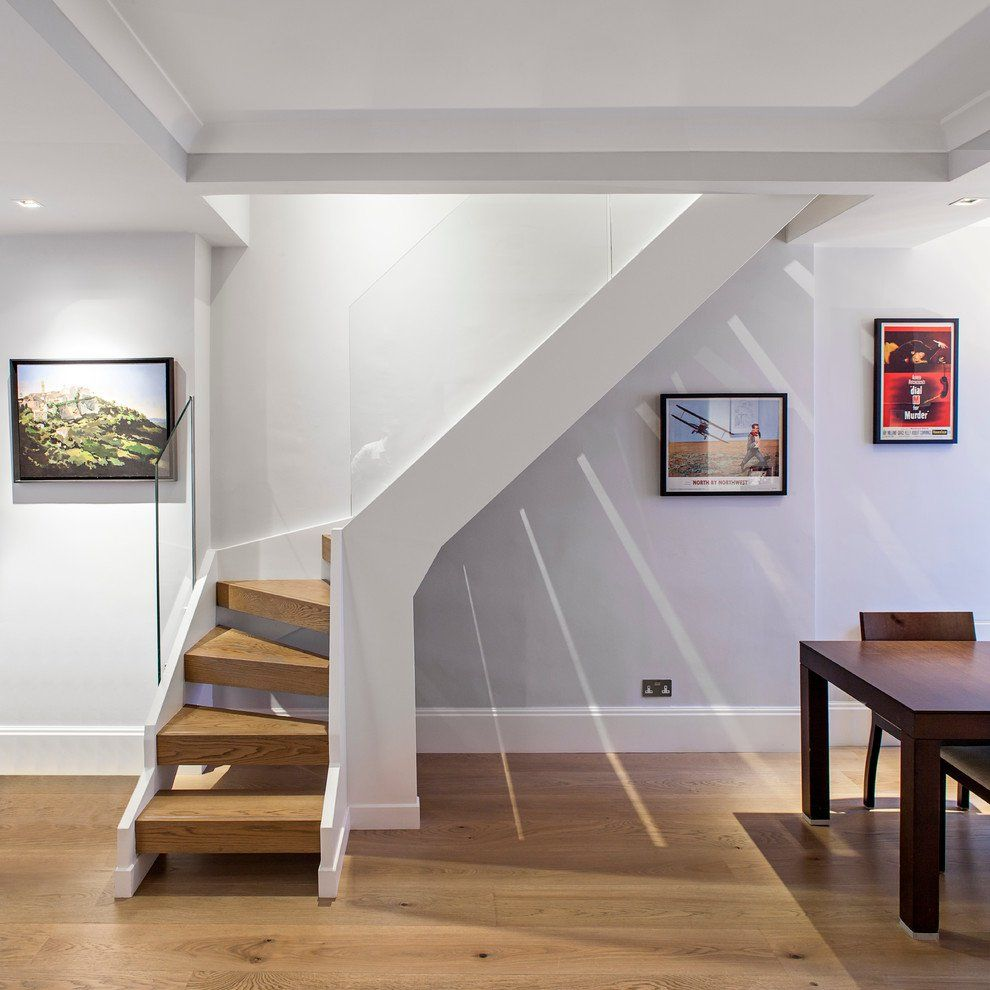 16 Memorable Contemporary Staircase Designs That Will Change Your Home Small Staircase Stairs Design Space Saving Staircase
