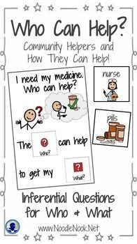 Adapted Book: Who Can Help? Inferential Comprehension