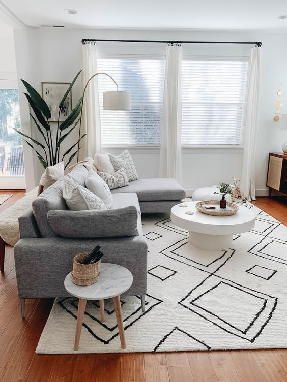 Photo of 35 popular living room carpet decoration concepts