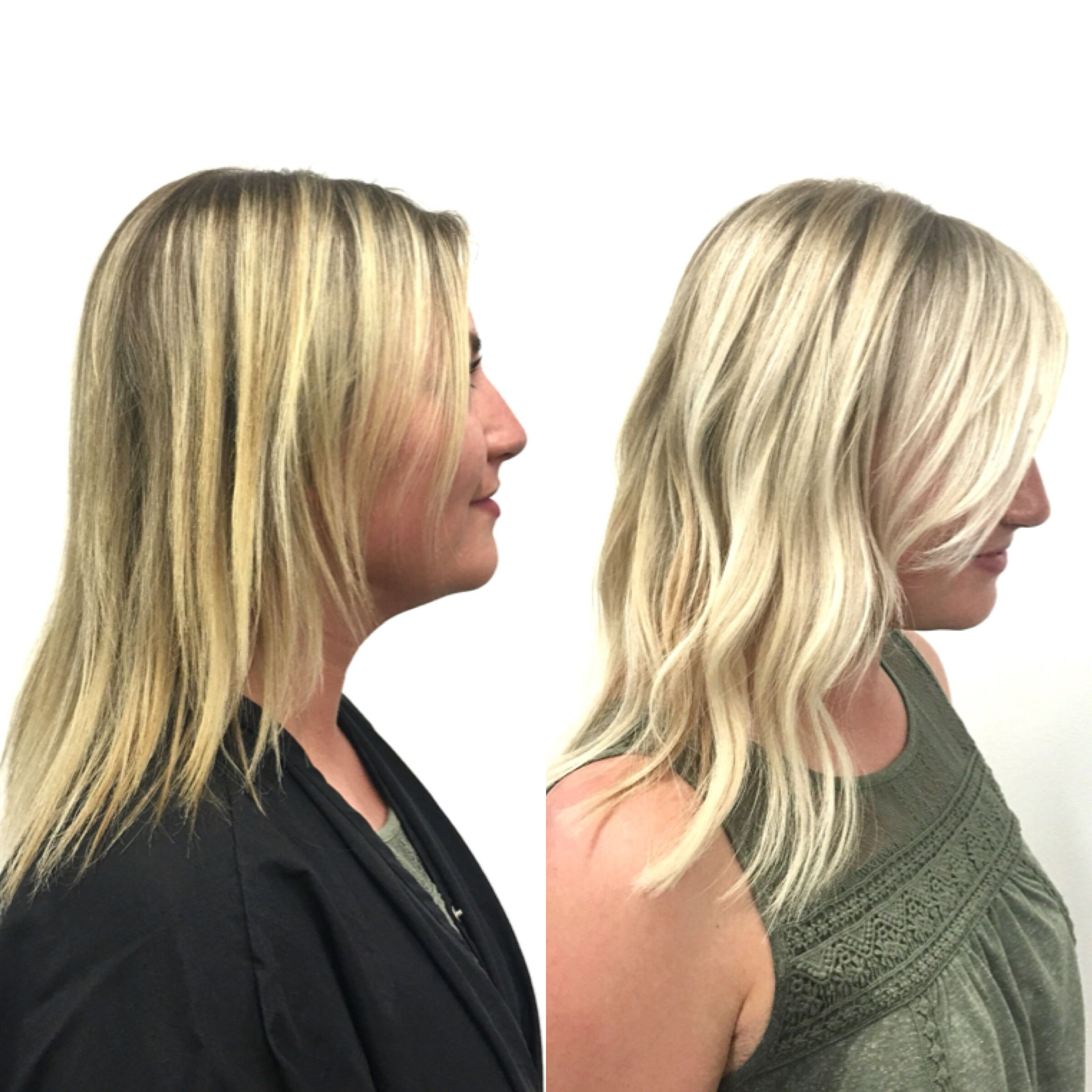 Before and after volume hair extensions by cassandra at salon before and after volume hair extensions by cassandra at salon entrenous lob finehair pmusecretfo Image collections