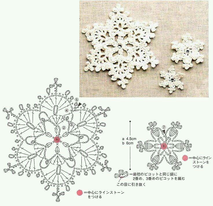 Estrellas frio | estrellas frio ganchillo | Pinterest | Ganchillo ...