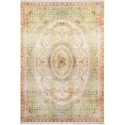 Photo of benuta Trends Teppich mit Print Siljan Beige/Grün 160×230 cm – Vintage Teppich im Used-Lookbenuta.de