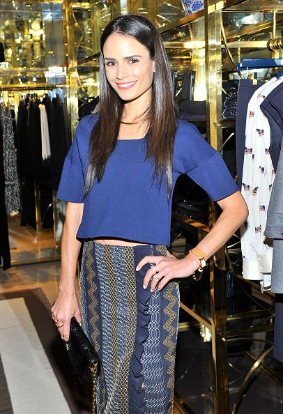 Jordana Brewster at Vogue And Tory Burch Celebrate The Tory Burch Watch Collection. Hair by Derek WIlliams. Makeup by Kayleen McAdams.
