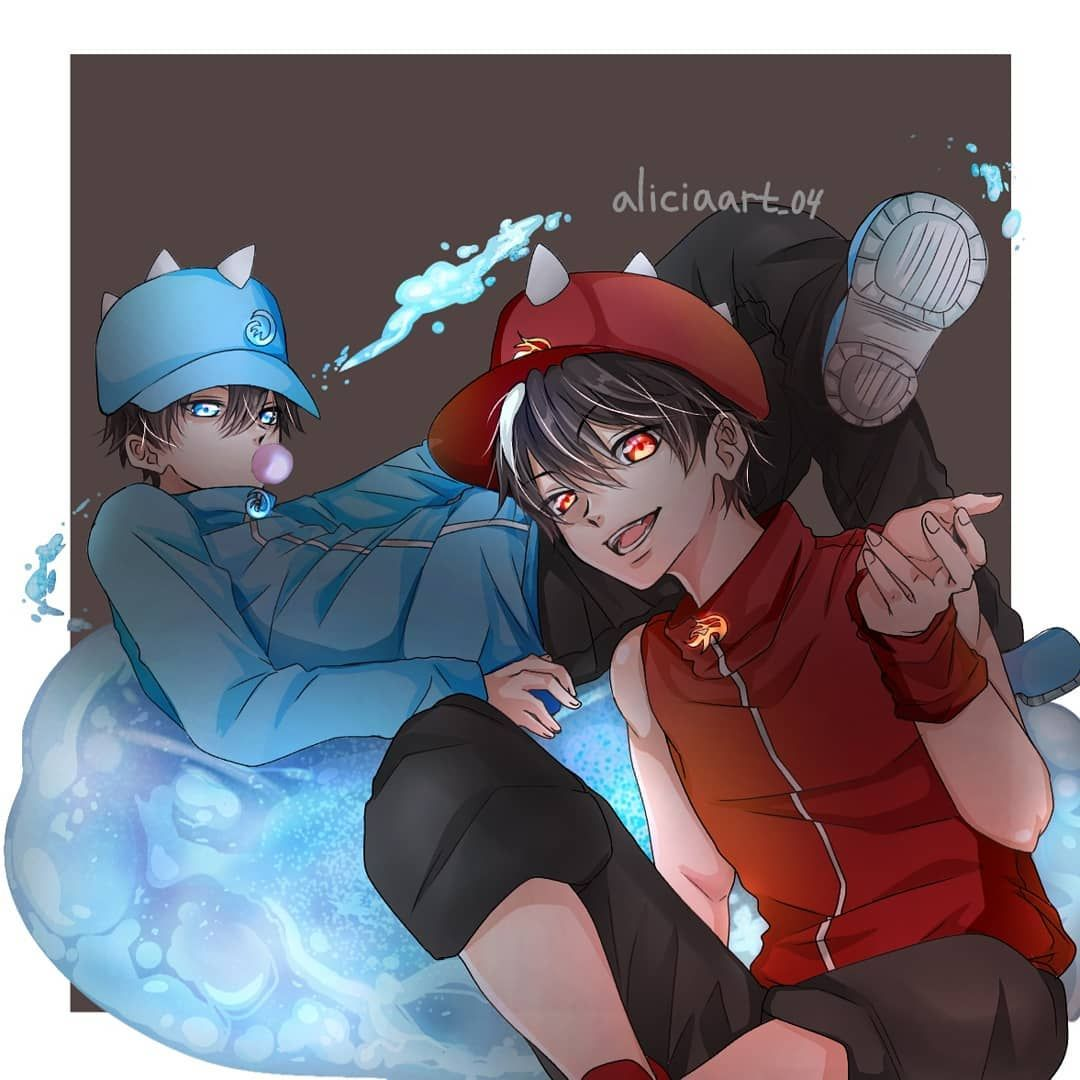 "☕🥀Alice🥀☕ Di Instagram ""Boboiboy Air & Api"