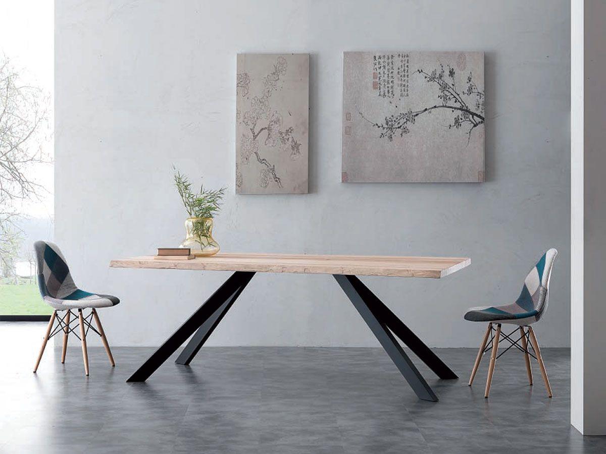 Tavolo Design In Legno : Used tavolo design legno pregiato con piedi in ferro for sale in